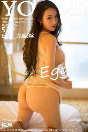 [YOUMI] 2018.07.16 VOL.187 Egg_尤妮丝